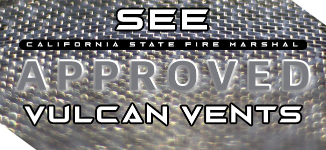 See approved vents